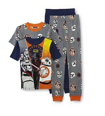 Star Wars Pajamas 2 Sets Size 6 New Stormtroopers Bb8 Kylo Ren Fast Ship