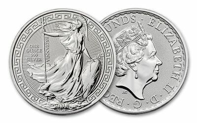 1oz Royal Mint 2018 20th anniversary Britannia with Oriental Border Bullion Coin