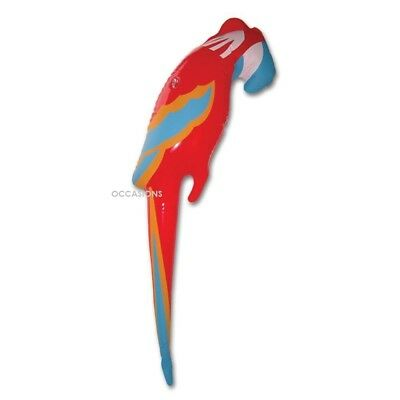 Inflatable Blow Up Parrot Fancy Dress Party Toys Pirate Costume