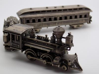 232g/8.2-oz. Vintage Solid Silver Italian Made HUGE Train, Figurine, Stamped