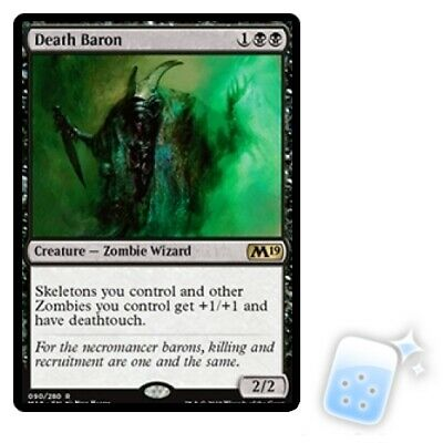 Death Baron M/NM Magic: The Gathering MTG Core Set 2019 M19