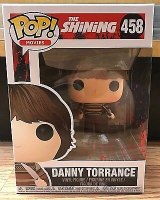 DANNY TORRANCE 458 Funko POP The Shining vinyl figure New In Package Horror