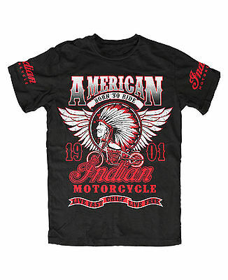 Indian Motorcycle M7 Premium T-Shirt , Indianer, Fashion,biker