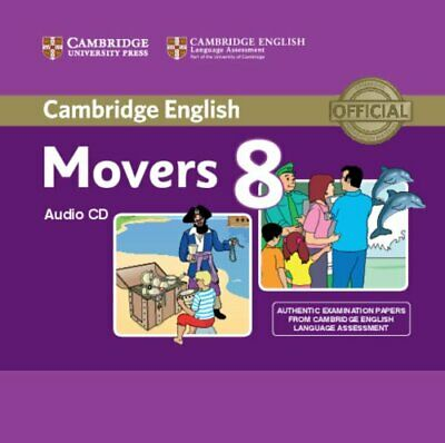 Cambridge English Young Learners 8 Movers Audio CD: Authentic Examination Papers