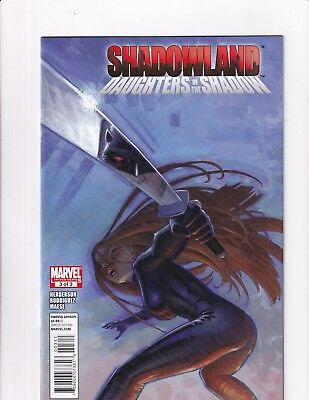 Shadowlands:Daughters Of The Shadow #3 (Marvel 2010)