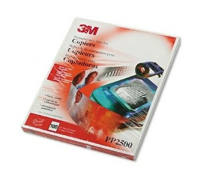 3M PP2500 Plain Paper Copier Transparency Film (Open Packing) - Unused Product