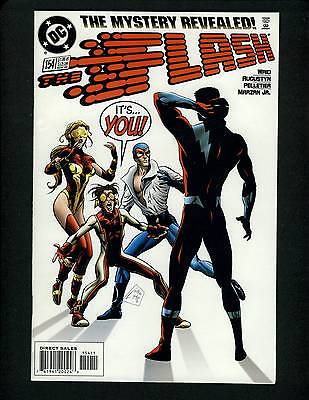 "Flash V2 #154->Sept 1999 Wally West -NM 9.4 >Perfect  ""Dimensionally Challenged"""