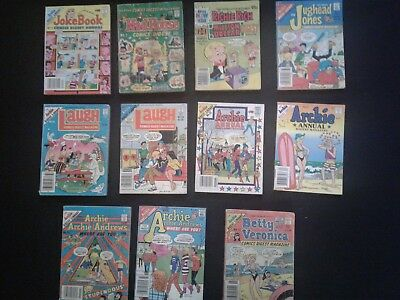 Comic digest mix lot of 27 - Archie, Richie Rich, Mad House, Jughead, Betty