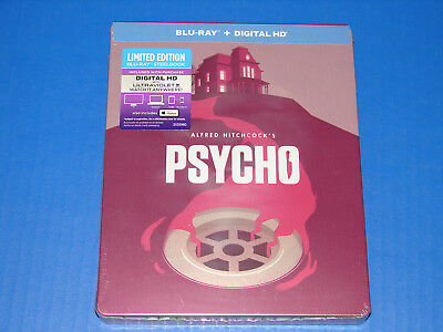 Psycho Steelbook (Blu-ray Disc, 2014, Limited Edition) NEW SEALED