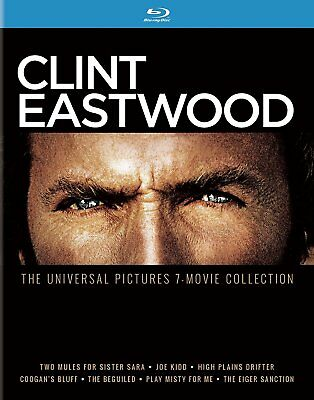 Clint Eastwood: The Universal Pictures 7-Movie Collection [Blu-ray] New DVD! Shi