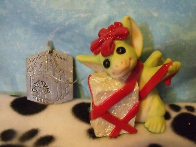 Pocket Dragon All Wrapped Up - With Ornament