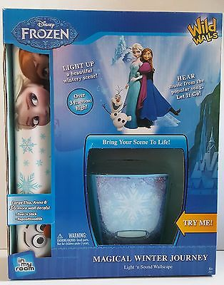 Wild Walls Disney Frozen Elsa/Anna-Magical Winter Journey Light-Sound Wallscape
