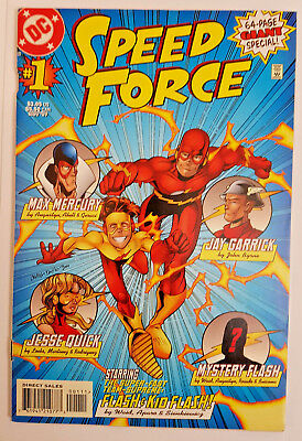 DC Comics THE SPEED FORCE 64 page Special #1 (1997 The Flash)