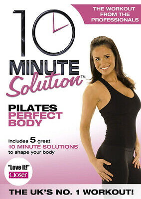 10 Minute Solution: Pilates Perfect Body DVD (2008) Suzanne Bowen ***NEW***