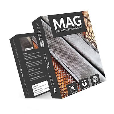 Tresalto MAG Door Net Screen With Magnet - 34 x 82 inches - Bug Off Magnetic ...
