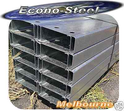 STEEL C PURLINS C 150 15, 6.1mt long, Galv finish. New. Suit many applications