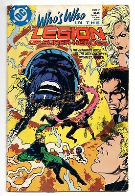 Who's Who In The Legion of Super-Heroes #2 (DC, 1988) GD