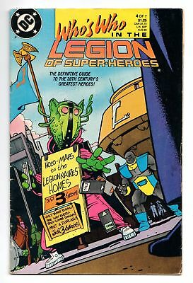 Who's Who In The Legion of Super-Heroes #4 (DC, 1988) GD