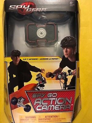 Spy Gear Spy Go Action Camera Clip-On Portable Surveillance Spin Master Toy