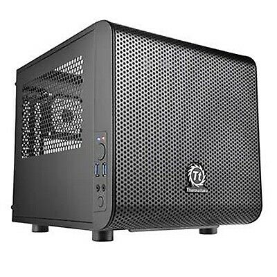 Thermaltake Core V1 Mini ITX Case Black CA-1B8-00S1WN-00