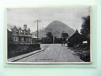 SCOTLAND POSTCARD: The Law & Cottages, NORTH BERWICK, East Lothian