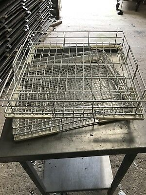 Two Commercial Dishwasher Trays glass wash trays dish wash