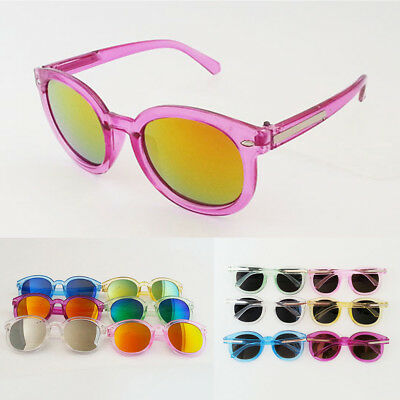 Eyeglasses Girls Boys Goggles Children Bright Sunglasses Reflective Color