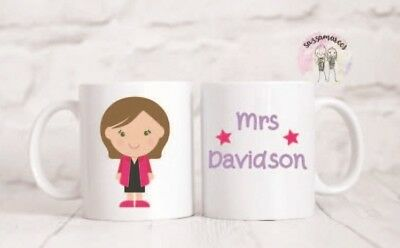PERSONALISED TEACHER MUG / Teacher gift/ Gift for teacher/Teaching assistant/cup