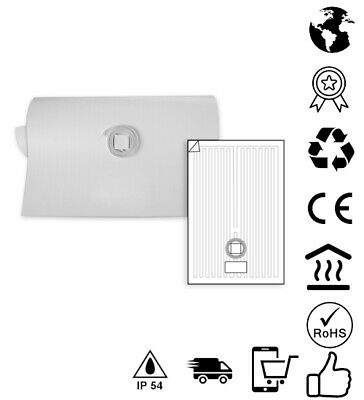 NEW Bathroom Mirror Demister Demisting Heating Pad Steam Free In Square 230v