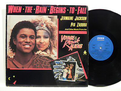 ♫Ms Voyage Of The Rock Aliens Jermaine Jackson & Pia Zadora Curb Vg+ ♫Ao103♫