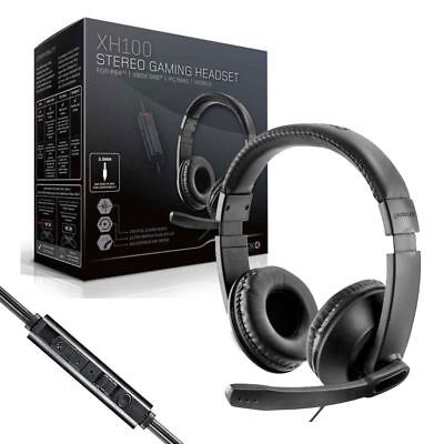Gioteck XH100 xBox One / PS4 / PC / Mac / Wired Stereo Gaming Headset Headphones