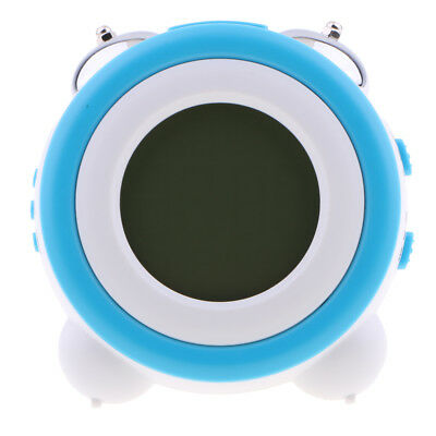 Non-ticking Classic Bedside/Table Round Twin Bell Loud Alarm Clock Snooze