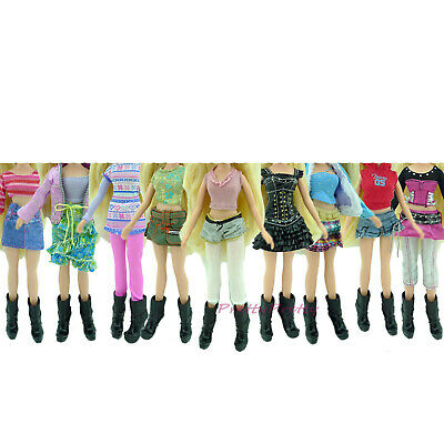 Fashion Daily Outfit Dress Blouse Trousers Shirt Cool Clothes For Bratz Doll Toy