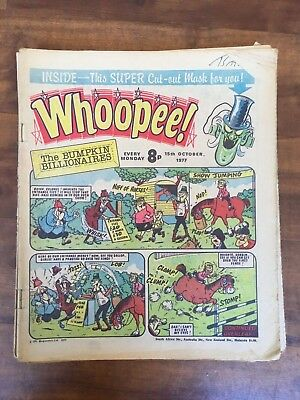 Whoopee! 1977 almost Complete Year 51 Issues