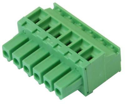 Terminal Block Ra Plug 3.81Mm 6 Way - 21.1510M/6-E