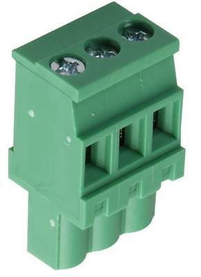 Terminal Block Ra Plug 5.0Mm 3 Way - 20.920M/3-E