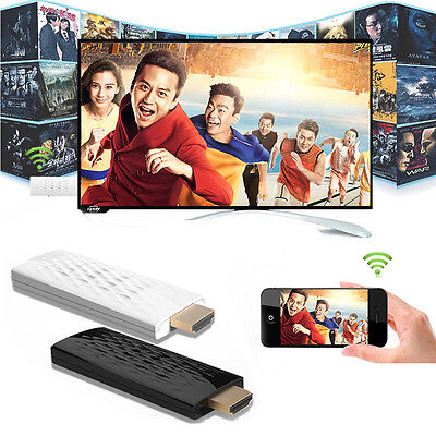 1x Wireless WiFi Dongle Adapter Receiver TV 1080P HDMI Miracast DLNA AirPlay New
