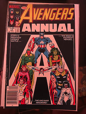 THE AVENGERS ANNUAL #12 NM 1st Print CANADIAN PRICE VARIANT Vs UNCANNY INHUMANS