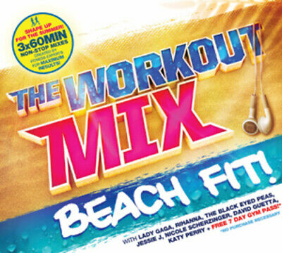 Various Artists : The Workout Mix: Beach Fit CD 3 discs (2011) Amazing Value