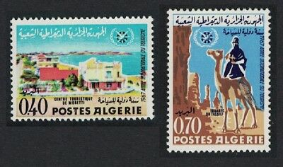 Algeria Camel International Tourist Year 2v SG#484-485