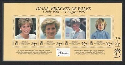 BIOT Diana Princess of Wales Commemoration SG#MS214