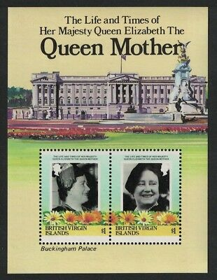 BVI Life and Times of the Queen Mother MS SG#MS587A SC#517
