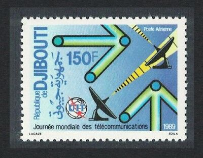 Djibouti World Telecommunications Day 1v issue 1989 SG#1036