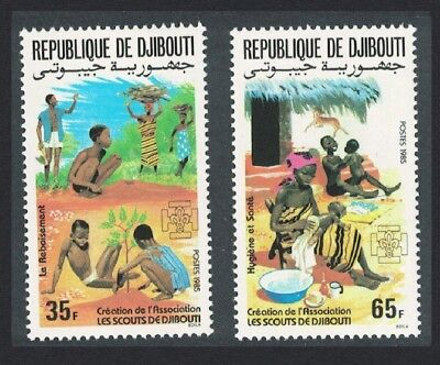 Djibouti Foundation of Djibouti Scouting Association 2v SG#953-954