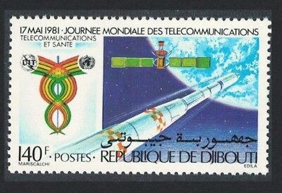 Djibouti Space Exploration World Telecommunications Day 1v SG#811