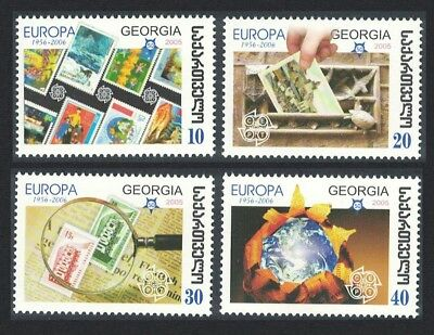 Georgia 50th Anniversary of Europa CEPT 4v SG#484-487