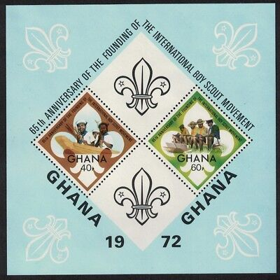 Ghana 65th Anniversary of Boy Scouts MS SG#MS651