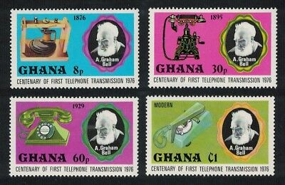 Ghana Alexander Graham Bell Centenary of Telephone 4v SG#791-794