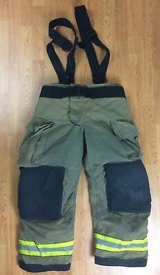 Globe Gxtreme Firefighter Bunker Turnout Pants 36 x 28  2010
