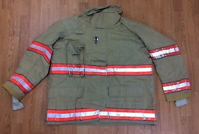 Cairns RS1 Firefighter Turnout/Bunker Coat 48 Chest x 32 Length '05